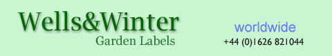 Garden and Plant Labels Worldwide